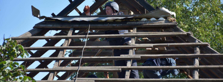 На Донеччині за два місяці планують відновити понад 400 будинків, пошкоджених через агресію РФ