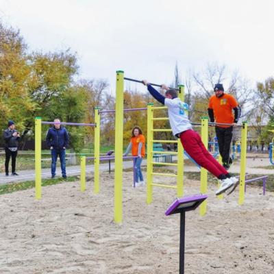 У Слов'янську презентували ще дві локації активних парків
