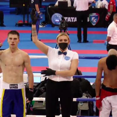 25-річний майстер спорту з Донецької області Владислав Гіда став срібним призером чемпіонату світу з кікбоксингу WAKO