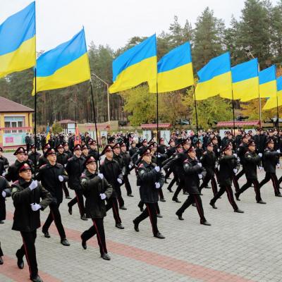Військову присягу, а не урочисту клятву ліцеїста, відтепер складають першокурсники Луганського обласного ліцею з посиленою військово-фізичною підготовкою