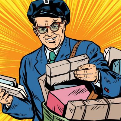 Листоноша з Бразилії не тільки доставляє пошту, але й заводить безліч чотирилапих друзів