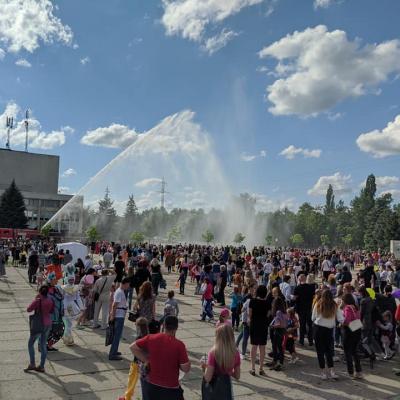 У Рубіжному, що на Луганщині відсвяткували Міжнародний день захисту дітей: фотогалерея