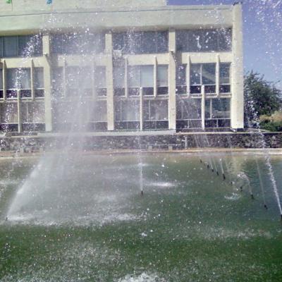 У Рубіжному, на головній площі міста, влада вирішила відремонтувати фонтан (ФОТО)