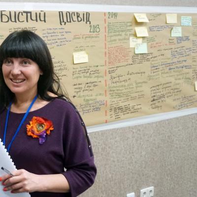 Оксана Алiстратова - людина яка в захваті від того що може допомогти людям