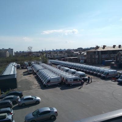 Луганщина отримала сім нових автомобілів швидкої допомоги, загалом очікується 38