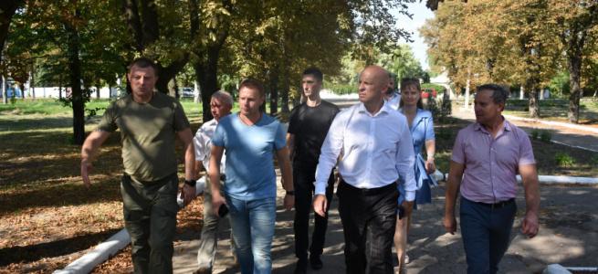 У Мар'їнці, що на Донеччині,  з'явиться активний парк – локація здорової України