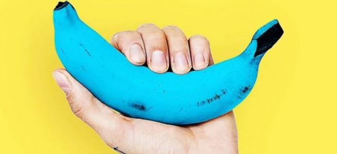 Унікальний сорт бананів блакитного кольору (ФОТО)