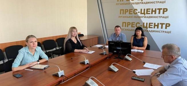 На Луганщині за допомоги USAID розробляється проєкт моделі госпітальної мережі округу
