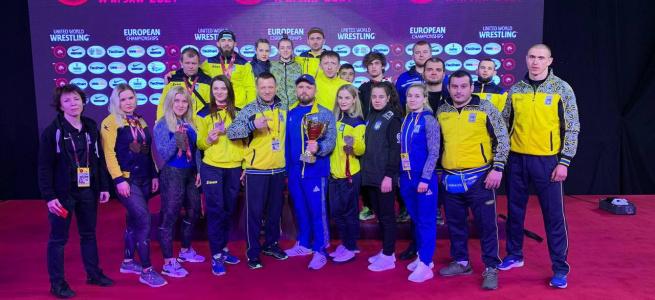 Збірна України з грепплінгу виборола 14 медалей на чемпіонаті Європи