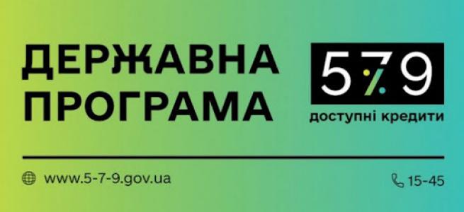 У 2021 році підприємці Луганщини скористалися перевагами державної програми «Доступні кредити 5-7-9 %» на суму 450 мільйонів гривень