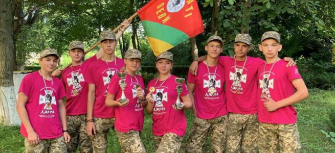 Учні Лиманської гімназії вибороли ІІІ призове місце на Всеукраїнському етапі гри «Сокіл» («Джура»)