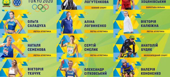 Результати виступів спортсменів Донецької області на Іграх XXXII Олімпіади в Токіо