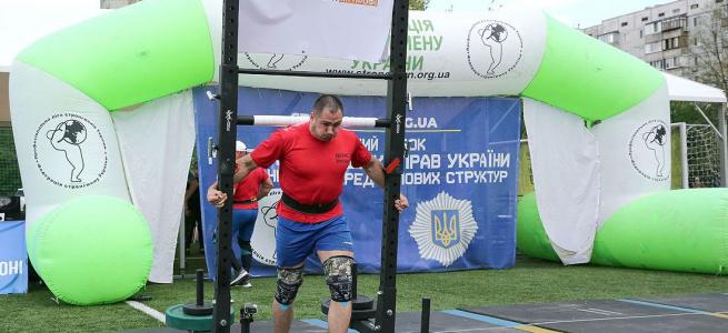 У столиці пройшов Відкритий кубок Міністра внутрішніх справ України зі стронгмену-2021
