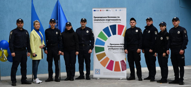 У місті Золоте, що на Луганщині, відкрито поліцейську станцію
