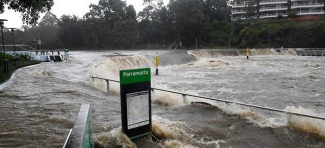 В Австралії через дощі почалася найсильніша повінь за 50 років (ФОТО)