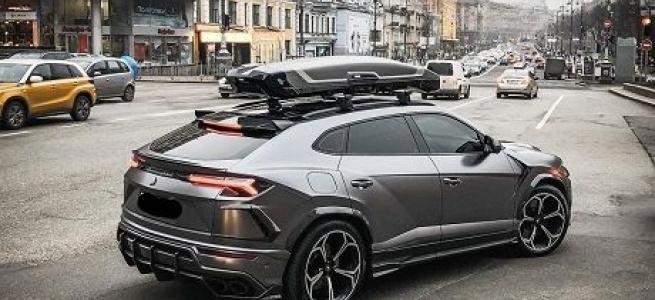 У столиці помітили рідкісний суперкар Lamborghini (фото)