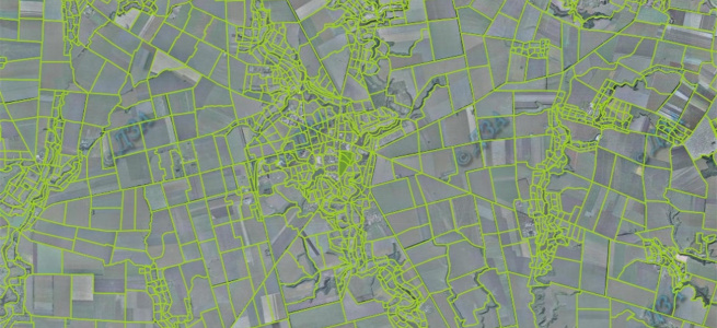 Межі громад з'явилися на Публічній кадастровій карті: деталі
