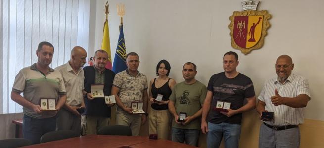 У Кам'янському, ветерани батальйону «Айдар», нагородили патріотів України