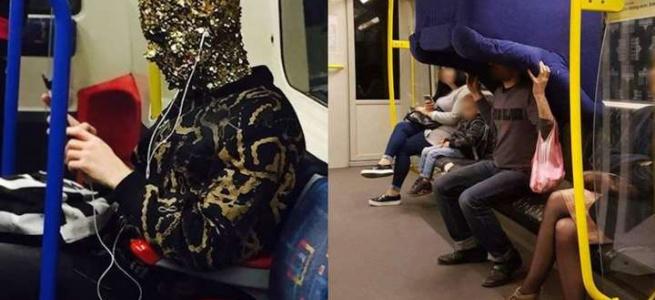 Коли зустрічаєш незвичайних і дивних попутників у метро. Підбірка курйозних фото