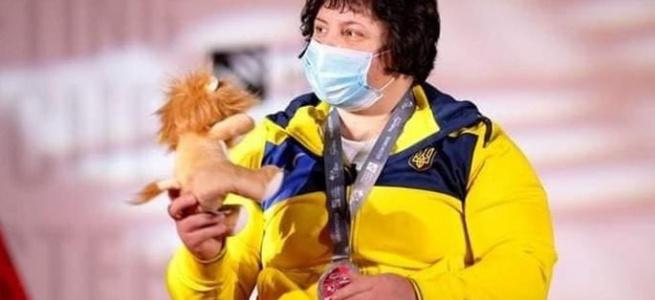 Спортсменка з Луганщини Наталія Олійник виборола срібну медаль Паралімпійських ігор 2020