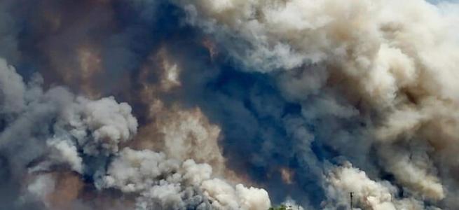 Бездіяльність луганської влади - масштабна пожежа і людські жертви