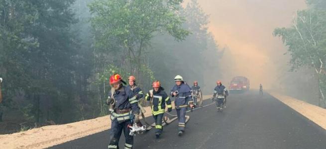 Пожежі на Луганщині - можливий підпал чи невдала діверсія