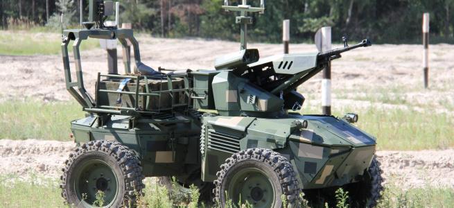 Міністру оборони України продемонстрували роботизовані платформи національних виробників: фото