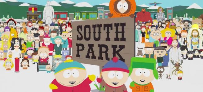 Трибуни стадіону в США заповнили персонажі «Південного Парку»