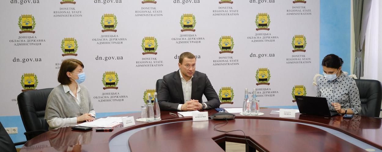 Озвучено деталі реконструкції об'єктів інфраструктури в Донецькій та Луганській областях в рамках Надзвичайної кредитної програми