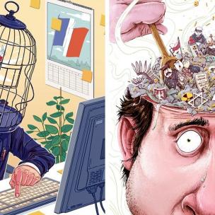 Веселі підбірки карикатур до Дня боротьби з комплексами (ФОТО)