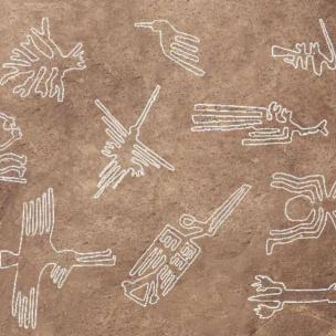 У Перу виявили гігантський малюнок кота віком у дві тисячі років