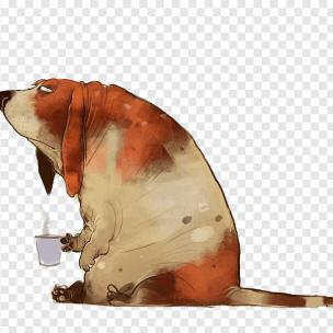 Товстий пес на прізвисько Дракс застряг у отворі для домашніх тварин